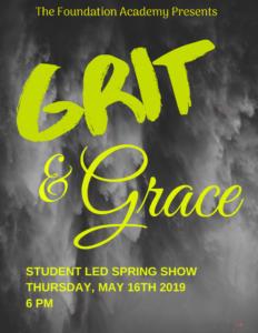 TFA Spring Show Grit & Grace